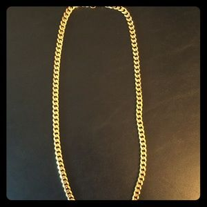 Other - 18k gold plated Cuban link chain